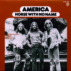 America A Horse With No Name Album Cover