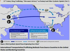 21st-Century-Drug-Trafficking-Moment-Advisory-On-Fentanyl-Figure-1-Illicit-Opioid-Flow-Originating-From-China