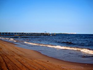 A View Of The Fishing Pier At South Beach Staten Island