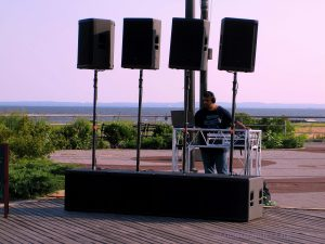 The DJ On Saturday July 27th At The South Beach Boardwalk