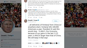President-Trump-Orders-Inspection-Of-Deliveries-From-China-For-Fentanyl-On-Twitter