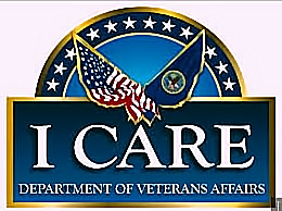 "Veternas Administration"" I Care"" Seal"