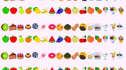 Flavored E-Cigarettes Banned In NYS. Graphic Of Emojis representing Vape Flavors.