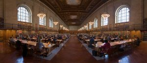 NYPL Research Room At 42nd Street Branch. Image Credit: Wikipedia CC By 2.5