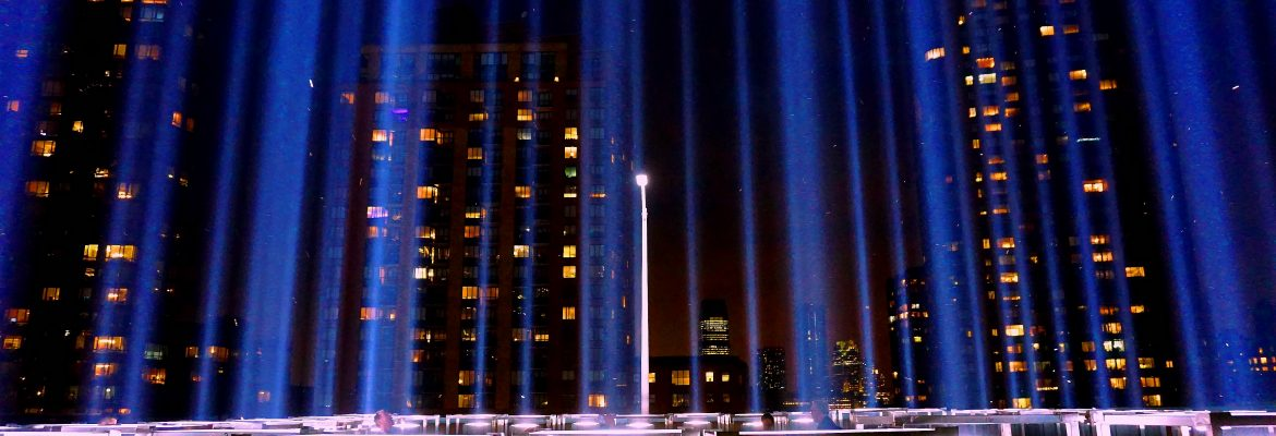 WTC Tribute In Light. Image Credit-Andrew Dallos: