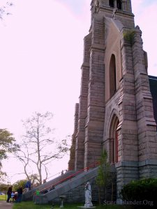 The Old Church of St. Joachim and St. Anne From An Angle. Image Credit: Staten Islander