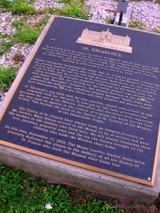 A Plaque Explains Some History Of The Mount Loretto Site. The Sisters Of Saint Francis, Along With Many Homeless Girls, lived Here. Image Credit: Staten Islander