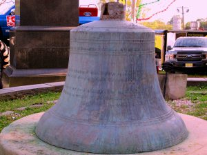 The Old Church's Bell, Retired. Dated 1883. Image Credit: StatenIslander.Org