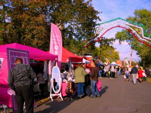 Stella's Secret Door Boutique And Other Vendors Line The Walk. Image Credit: StatenIslander