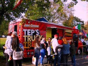 John's Catering Presents Tep's Truck Treats Drew Quite A Crowd. Image Credit: Staten Islander