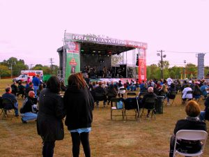 The Bands Were A Big Draw At The Italian Festival. Image Credit: Staten Islander