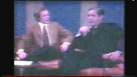 Senator John Marchi On The Dick Cavett Show. March 26, 1971. (C) 1971, American Broadcasting Company.
