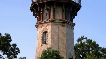 Staten Island Range Lighthouse As Seen From Edinboro Road. Tour With U.S. Coast Guard On September 26, 2019, Lighthouse Hill, Staten Island. Image Credit: StatenIslander.org