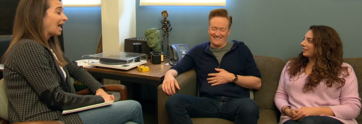 Conan and Sona Meet With Human Resources. Conan on CBS