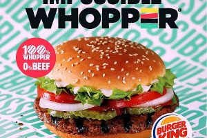 Impossible Whopper by Burger King