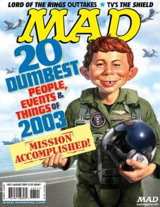 MAD Magazine 437 Cover W As Alfred E Newman
