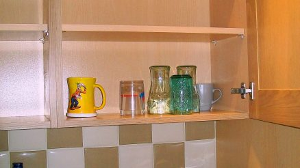 Empty Cupboards. Image Credit Peter O'Connor License By CC