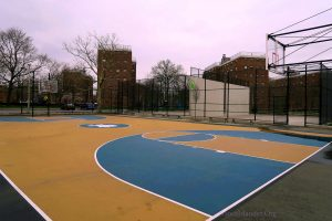 NYC Parks Department Removes Basketball Rims On Courts Due To Covid-19 Noncompliance.