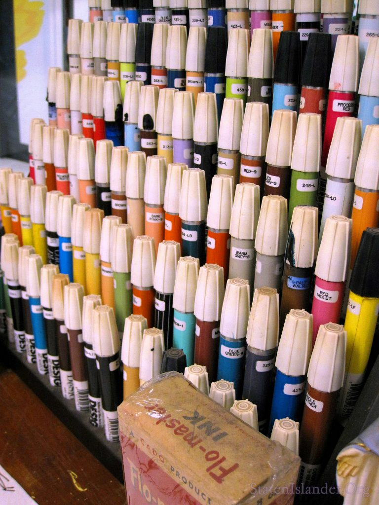 Design Markers. Note some have the old logos. These were the tools of the trade.