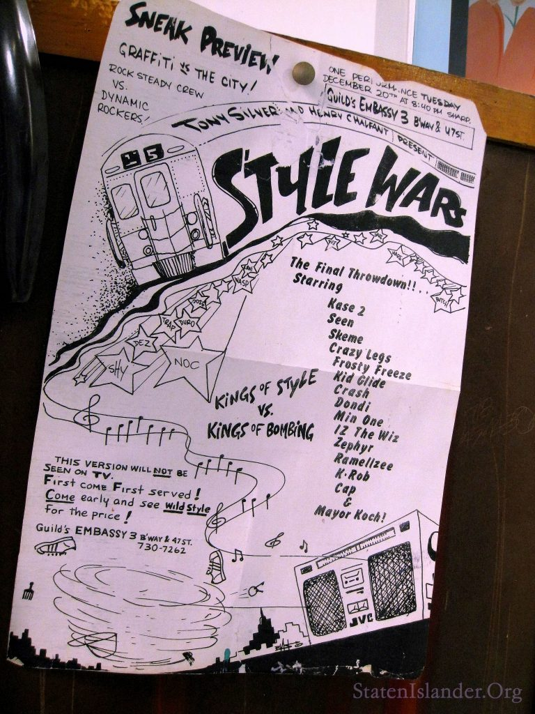 Flyer From Style Wars: The Final Throwdown