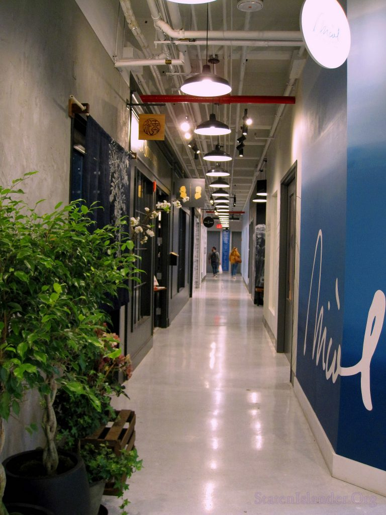 Hallway of The Makers Space.