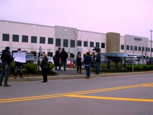Warehouse in Staten Island Over Covid-19 Fears