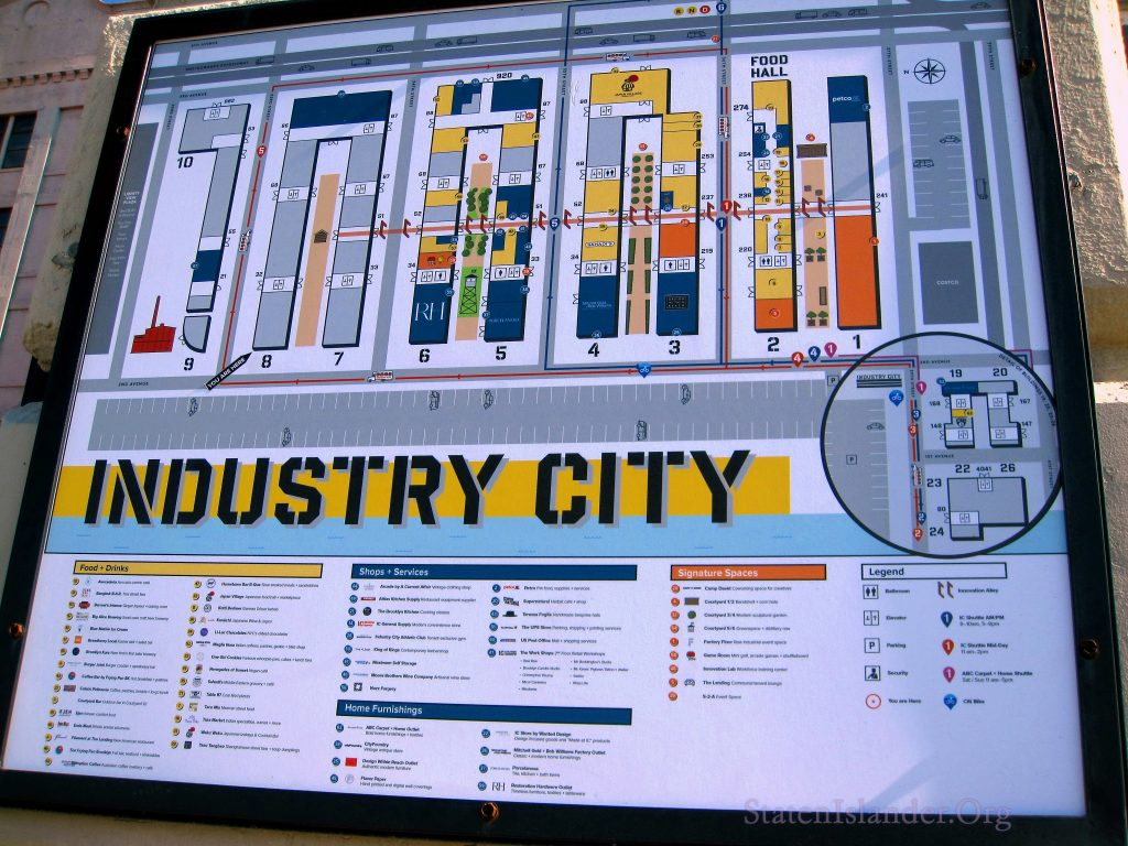 INDUSTRY CITY map