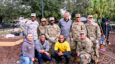Showing Unity As A Community 143d ESC Partners With NFL To Keep The City Beautiful. Licensed by CC - 143d ESC