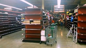 Whole Foods Milburn, NJ. Not Much Food Left