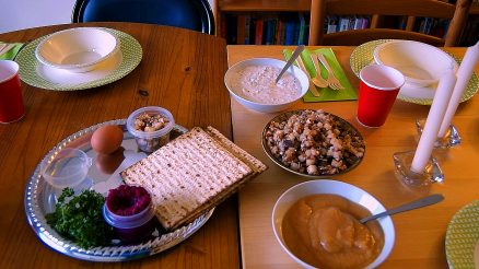 Passover Seder Table. Image Credit- Kellec. License By CC 2.0