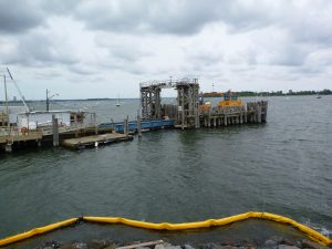Pier and Ferry to Hart Island. Image Credit- Wiki-pedia. License By CC 2.0