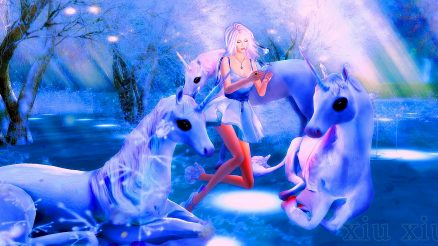 Unicorns. Image Credit- xiu xiu