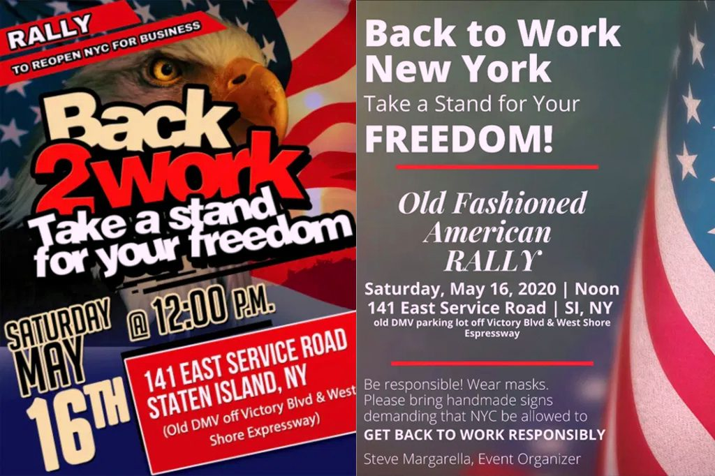 Back2Work - Take a stand for your freedom