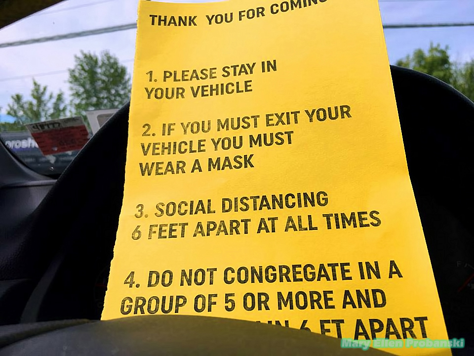Rules Of The Back2Work Rally Sign In Travis - Image Credit Mary Ellen Probanski