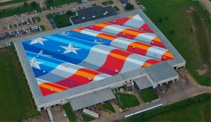 Scott's Largest Piece and World's Largest American Flag Mural