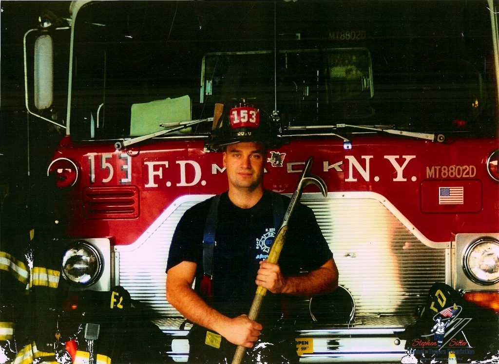 Stephen Siller, Staten Island Firefighter Who Ran Thru The Brooklyn-Battery Tunnel To Get to the WTC on 9-11