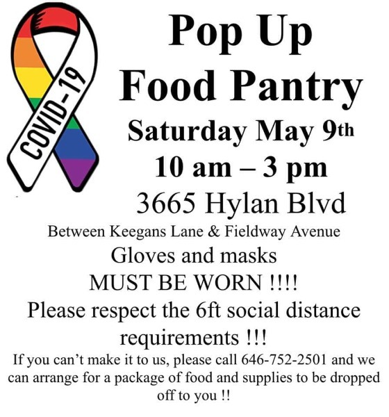 Pop Up Food Pantry On Staten Island This Weekend