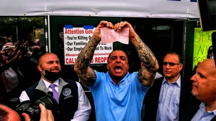 Bobby Catone Tears Up Citation For Opening His Tanning Salon