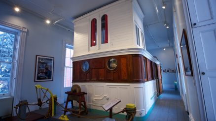 Houseboat And Studio at Noble Maritime Collection At Snug Harbor Cultural Center