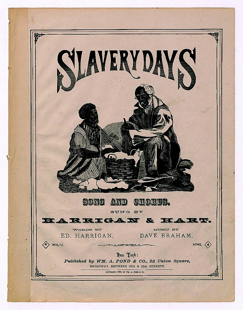 Slavery Days Songbook