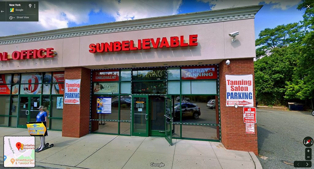 Sunbelivable Tanning Salon Closed Down After A Brief Re-Opening. Image Credit ABC, Inc.