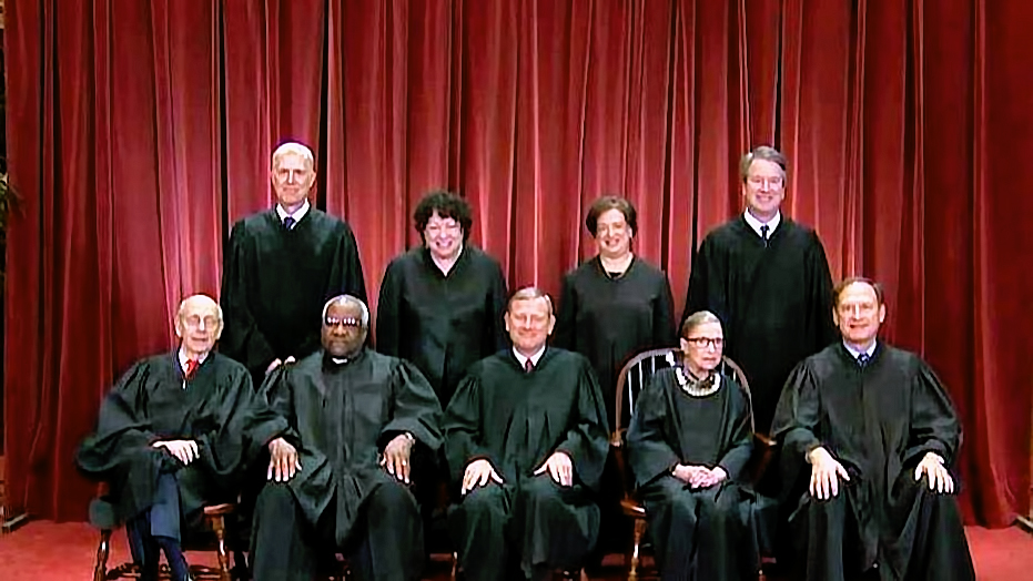 Supreme Court Justices. US Gov File Photo