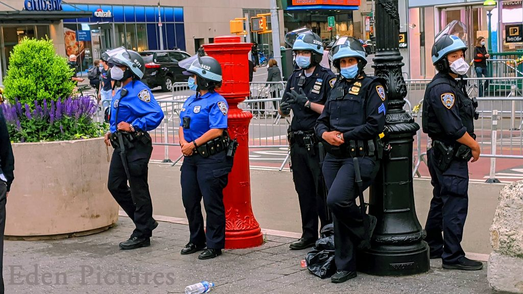 Watchful Cops. Image Credit Eden Pictures License By CC 2.0