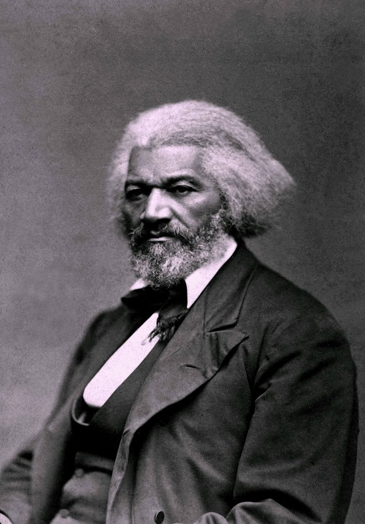 Frederick Douglass Portrait. Image Credit-Wikipedia. License By CC 2.0