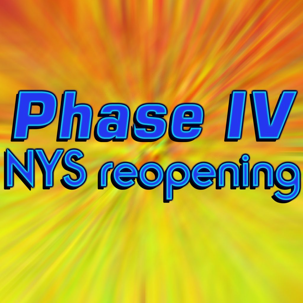 Phase IV Reopening New York City