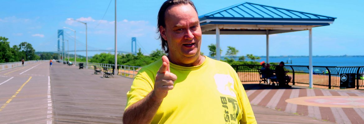 Terrible Tim At The FDR Boardwalk. Image Credit- StatenIslander.Org