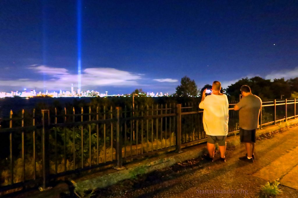 9-11 Tribute In Lights As Seen From Staten Island (4)