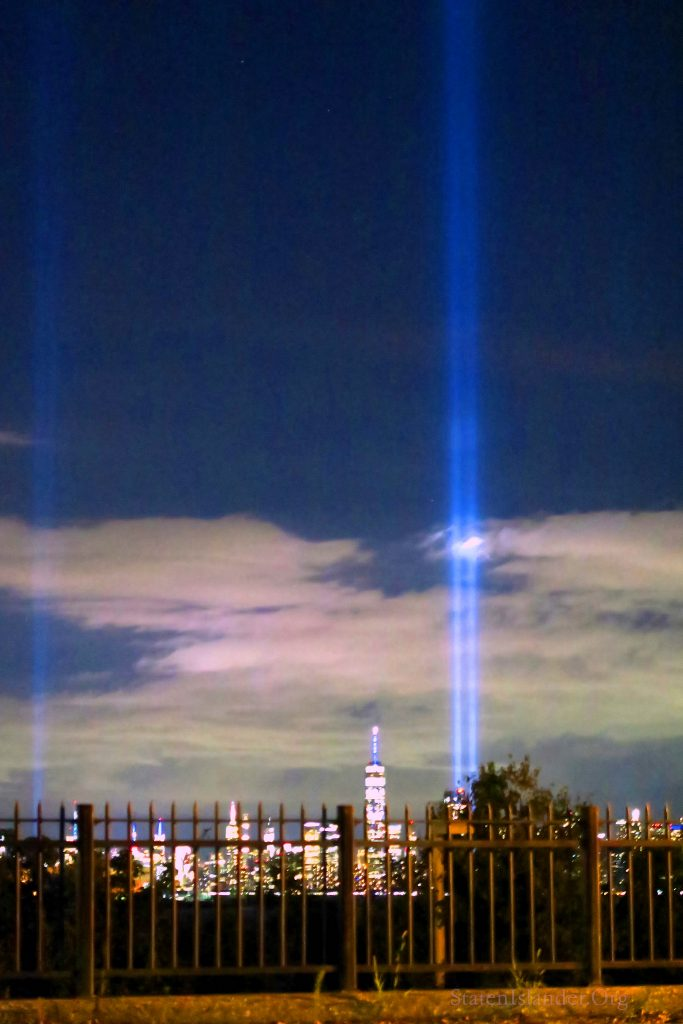 9-11 Tribute In Lights As Seen From Staten Island (5)