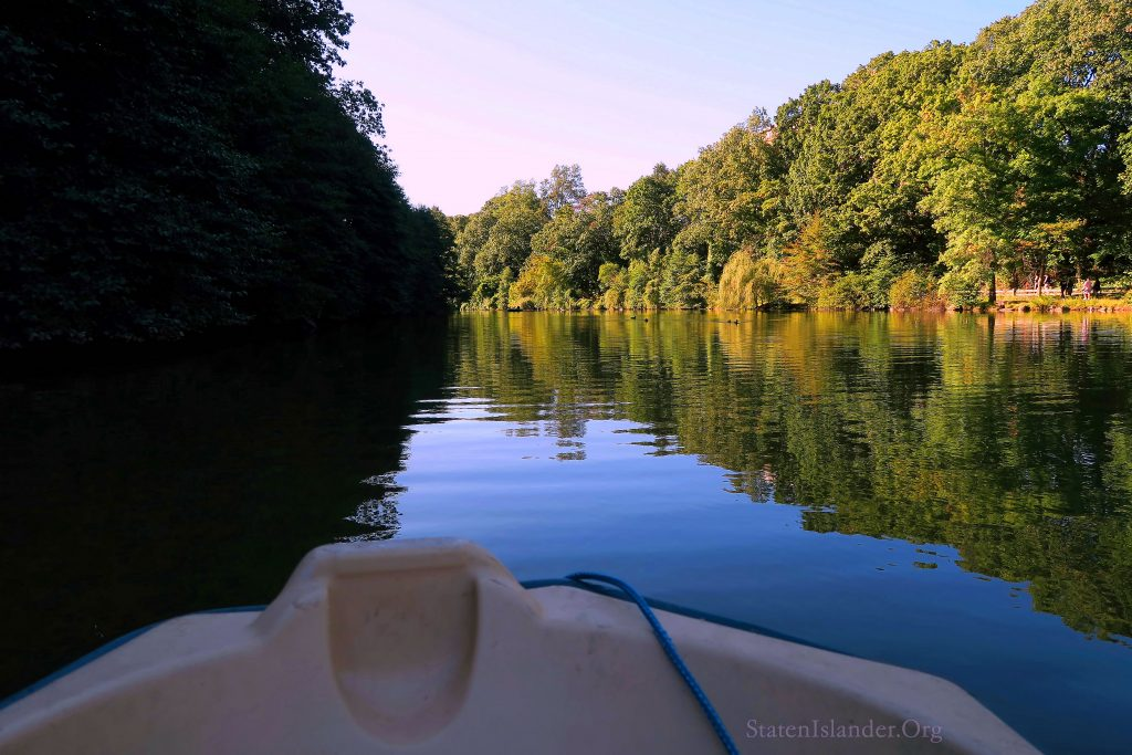 Rowing Out Onto Clove Lakes: Day-tripping On SI