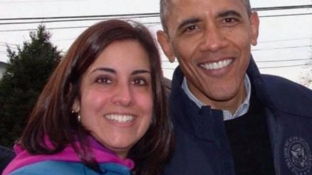 Nicole Malliotakis and President Obama After Hurricane Sandy